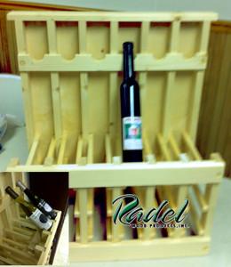 375ml 18-Bottle Display (Oak or Alder)