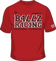 SHRAPNEL T-Shirt Red/White/Black SKU # 0153-0602