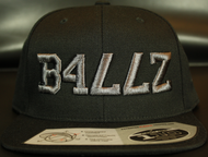B477Z Black & Black Chrome SNAPBACK SKU # 0258-0191