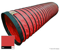 "In Stock 15'/4"" Standard Tunnel - RED"