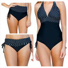 This is the bottom that does it ALL.  Can be worn as a one piece, hi-waist, bikini, or anywhere in between.    Easily changes in seconds by simply folding the bottom piece either up or down.  Pair it with any bikini top. For the best one piece look pair it with a flat lower band top.  Four-way stretch fabric provides you with extra tummy control and an easy and comfortable fit.  This is the perfect swimsuit.   Multikini are adjustable, convertible, and versatile.   Fits All Body Types.  82% poly 18% spandex  Made in the USA  Adjust the bottom as high or low as you want.  Tie for added scrunch.