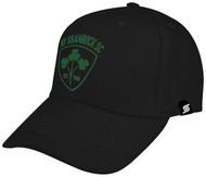 NY SHAMROCKS BASEBALL CAP -- BLACK