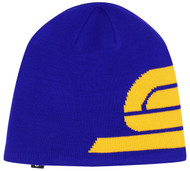 YOUTH  KNIT BEANIE -- BLUE COMBO