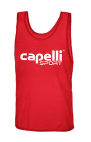 CAPELLI SPORT PRACTICE PINNIE -- RED