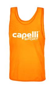 CAPELLI SPORT PRACTICE PINNIE -- ORANGE