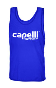 CAPELLI SPORT PRACTICE PINNIE -- BLUE