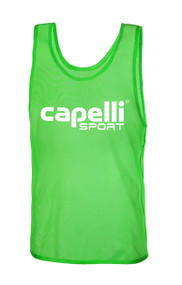 CAPELLI SPORT PRACTICE PINNIE -- GREEN