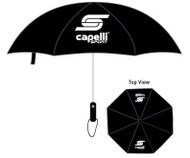 "CAPELLI SPORT 30"" WINDPROOF UMBRELLA  --  BLACK"