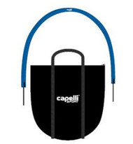 CAPELLI SPORT 6 PCS  TRAINING ARCS WITH REMOVABLE SPIKES AND CARRYING CASE -- PROMO BLUE WHITE