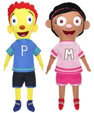 KICK & PLAY MIMI & PEPE DOLLS