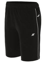 IRONDEQUOIT SC BASICS I TRAINING SHORTS WITH POCKETS -- BLACK WHITE