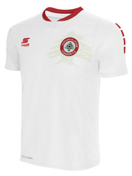 ADULT LEBANON NATIONAL TEAM AWAY JERSEY --  WHITE RED