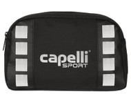 "CAPELLI SPORT  PLAYER  KIT ( 11""L x 3.5"" W x 6.75"" H )   --    BLACK SILVER"