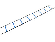 11 RUNG PLASTIC SPEED LADDER WITH  CARRYING CASE    --   PROMO  BLUE WHITE
