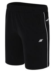 BIG CAT BASICS | TRAINING SHORT WITH POCKETS   -- BLACK WHITE