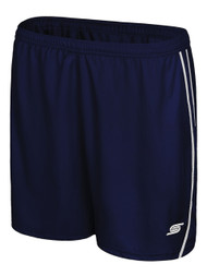 WOMEN'S IRONDEQUOIT SC GAME SHORTS -- NAVY WHITE