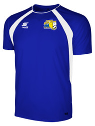 EASTERN NY  RAVEN TRAINING SHORT SLEEVE PREGAME JERSEY -- ROYAL BLUE WHITE