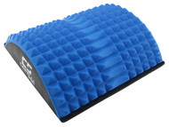 FITNESS WEDGE MASSAGE BACK STRETCHER MAT-- BLUE COMBO