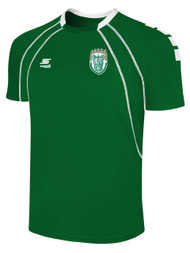 ROCHESTER JUNIOR RHINOS  RAVEN MATCH JERSEY-- GREEN WHITE