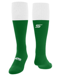 ROCHESTER JUNIOR RHINOS  CONDOR  MATCH SOCKS -- GREEN WHITE