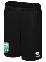 ROCHESTER JUNIOR RHINOS  CS ONE SHORTS -- BLACK WHITE