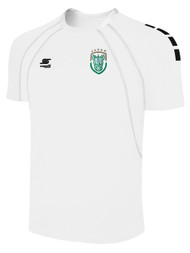 ROCHESTER JUNIOR RHINOS  RAVEN MATCH JERSEY-- WHITE