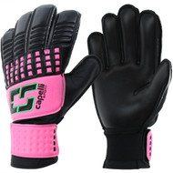 CS 4 CUBE TEAM YOUTH GOALKEEPER GLOVE-- NEON PINK NEON GREEN BLACK