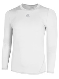 CS COOL LONG SLEEVE COMPRESSION SHIRT  -- WHITE     $26 - $28