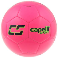 SPORT FUSION COMPETITION SOCCER BALL -- NEON PINK NEON GREEN