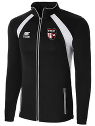 COAST FA  RAVEN TRAINING JACKET -- BLACK WHITE