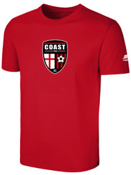 COAST FA BASIC T-SHIRT -- RED