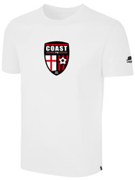 COAST FA BASIC T-SHIRT -- WHITE