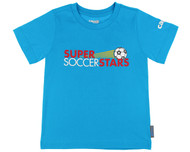 SUPER SOCCER STARS  CLASS T-SHIRT  -- BLUE ( 3 - 4 Years)