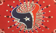 Bandana, Houston Texans never dazzled this much, you stun the entire stadium wearing this bling bling bandana. Check out the Dallas Cowboys bandanas as well. You'll score a touchdown in this American made bandana loaded with Swarovski crystals. Shop on line at Go Brazen.com or visit the store in Red Wing, Minnesota
