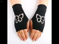 Gloves, Fingerless Butterfly