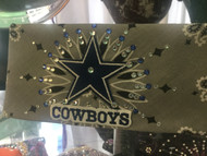 Bandana, Sports Cowboys on Grey FREE SHIPPING