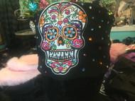 Headband, Skull Sugar FREE SHIPPING Stitched Patch