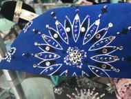 Bandana, aRoyal Blue w/ Blue FREE SHIPPING
