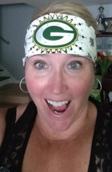 Bandana, Sports Green Bay Packers White FREE SHIPPING