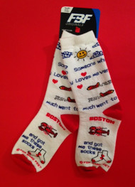 Someone went to Boston and got me these socks for kids by For Bare Feet