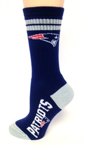 New England Patriots Socks #504 in Navy - size M