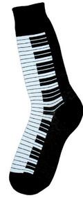 Piano Keys Socks for Men by Foot Traffic