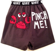 Pinch Me boxers shorts by Lazy One - back view