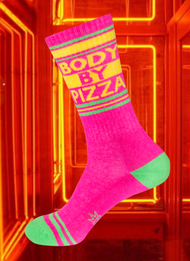 Body by Pizza socks by Gumball Poodle