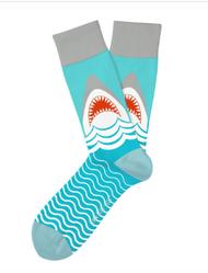 Great White Shark socks by Two Left Feet
