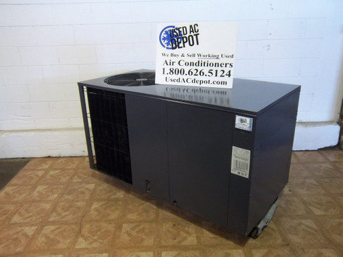 goodman ac unit. used 3.5 ton package unit goodman model phk042-1 1l goodman ac