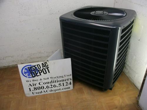 goodman compressor. used 3 ton condenser unit goodman model gsc130361fa straight cool compressor