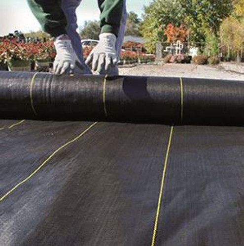 3.2 oz Weed Fabric / Ground Cover - 300 ft. Length