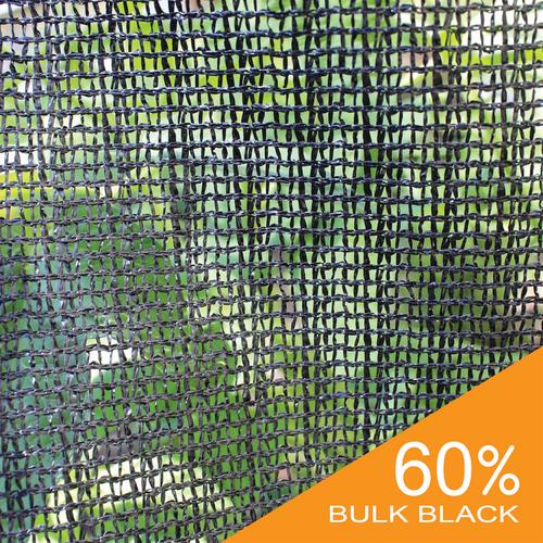 60% Black Bulk Shade Cloth