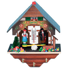 Black Forest Weather House with Key Holder